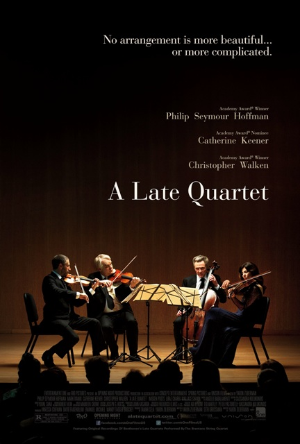 Late Quartet Poster
