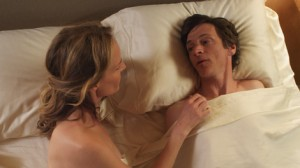 Helen Hunt and John Hawkes in the movie The Sessions