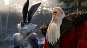 Bunny and North in Rise of the Guardians