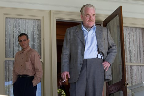 Joaquin Phoenix and Philip Seymour Hoffman in The Master © The Weinstein Company Inc. All Rights Reserved