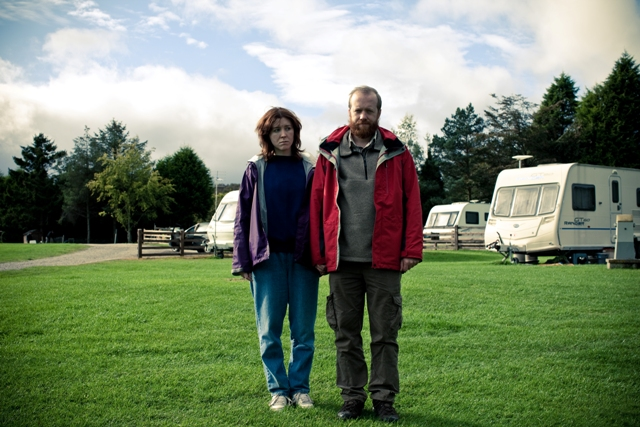 Alice Lowe and Steve Oram in the movie Sightseers