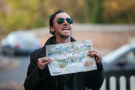 Simon Pegg as Gary King in the World's End