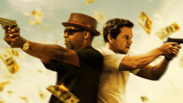 Denzel Washington and Mark Wahlberg back to back in 2 Guns