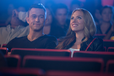 Joseph Gordon-Levitt and Scarlett Johanssen in Don Jon