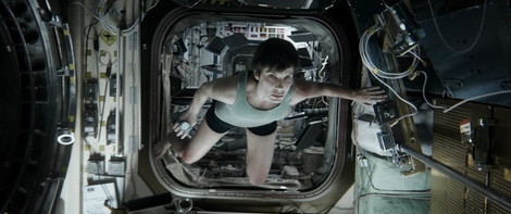 Sandra Bullock in Gravity © Warner Bros. Entertainment Inc. All rights reserved