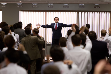 Leonardo DiCaprio in The Wolf of Wall Street © Paramount Pictures. All rights reserved