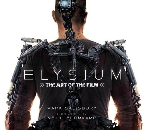 Elysium: The Art of the Film Book Cover