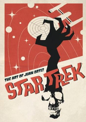 Star Trek: The Art of Juan Ortiz Book Cover