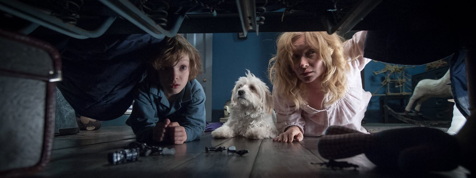 Noah Wiseman and Essie Davis in THE BABADOOK