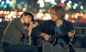 Anne Hathway and Johnny Flynn in SONG ONE