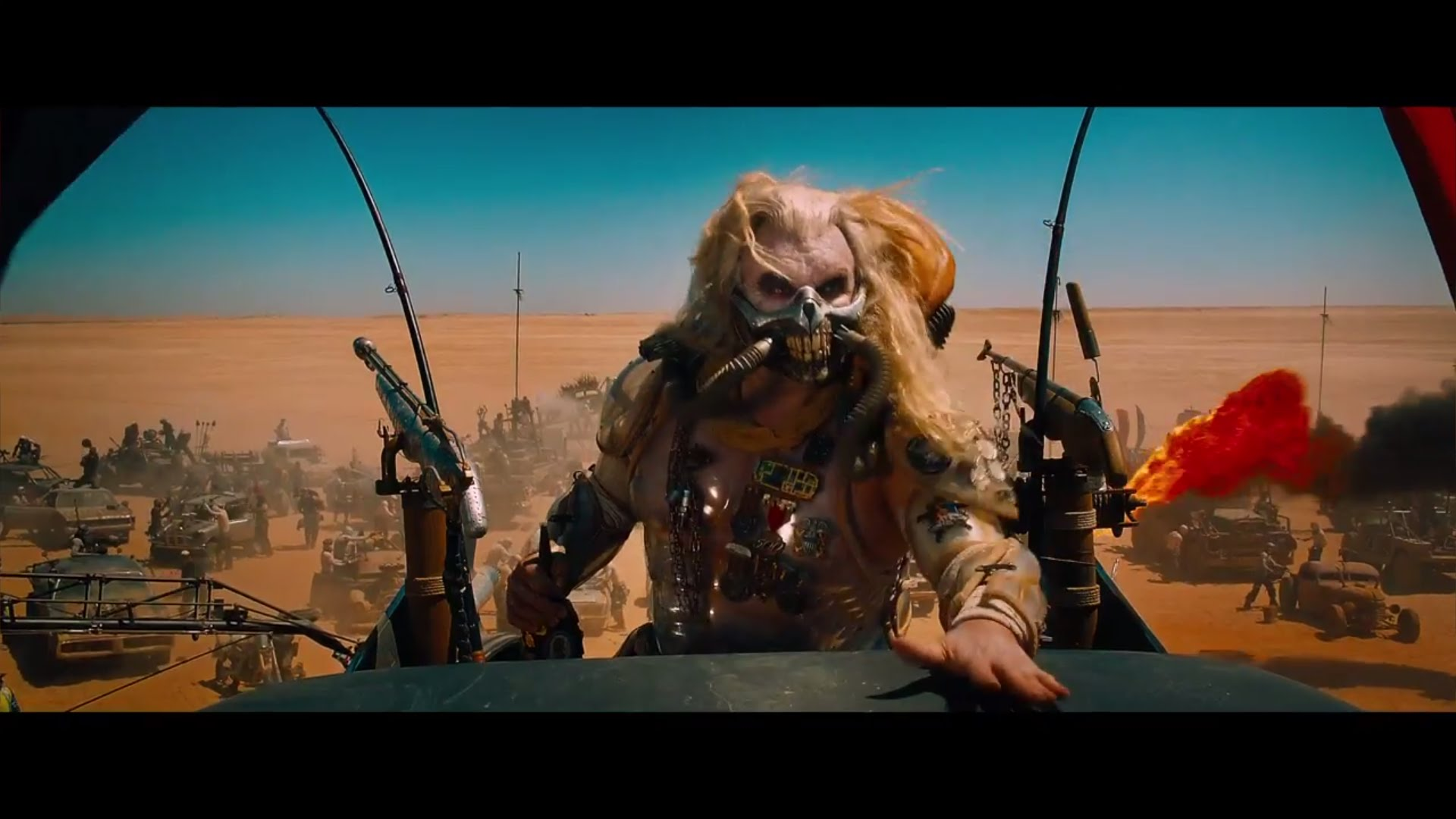 Immortan Joe in MAD MAX: FURY ROAD