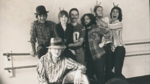 John Belushi, Chevy Chase and others in a still from DRUNK STONED BRILLIANT DEAD