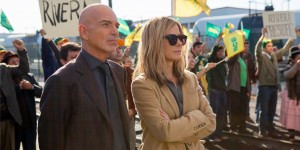 Billy Bob Thornton and Sandra Bullock in OUR BRAND IS CRISIS