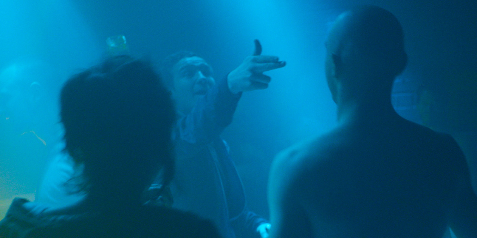 A club scene in the movie VICTORIA