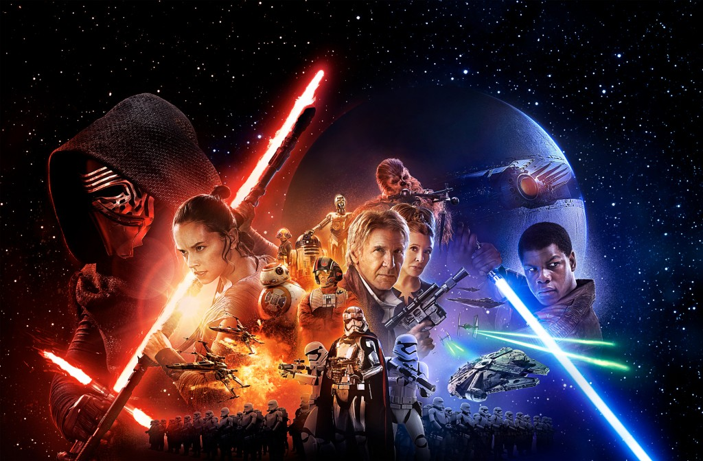 STAR WARS: THE FORCE AWAKENS poster