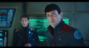Zachary Quinto and Anton Yelchin in STAR TREK BEYOND