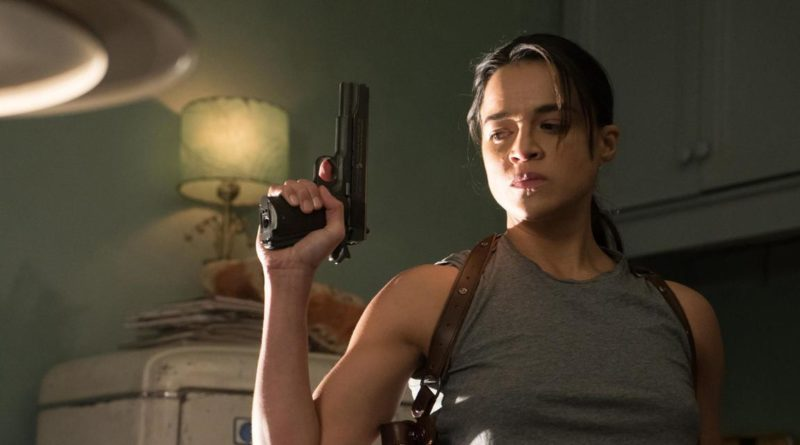 Michelle Rodriguez in THE ASSIGNMENT.