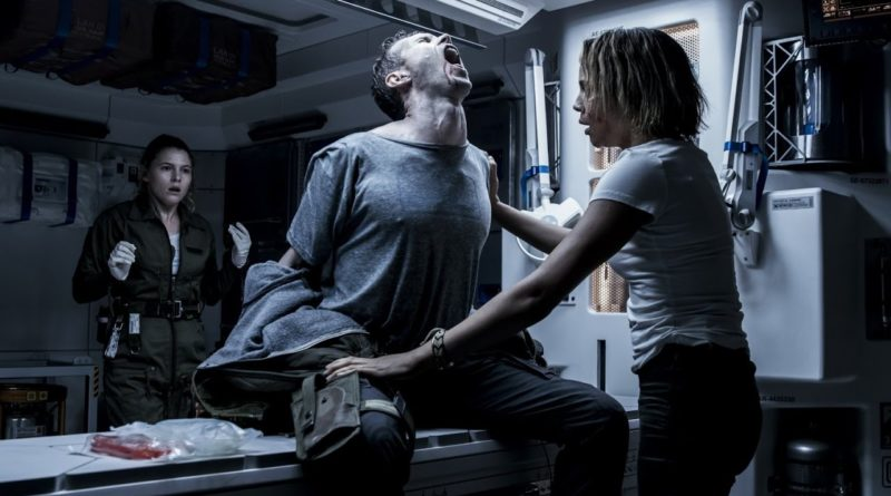 Something gross is about to happen in ALIEN: CONVENANT.