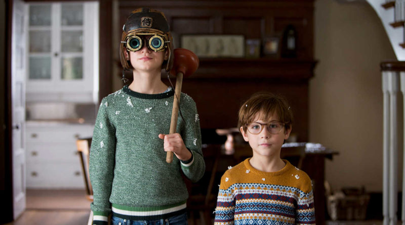 Jaeden Lieberher and Jacob Tremblay in THE BOOK OF HENRY