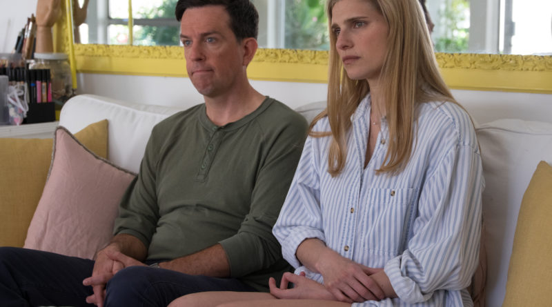 Ed Helms and Lake Bell in I DO...UNTIL I DON'T.